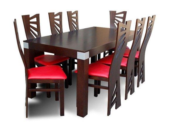 essgruppe mit tisch und st hlen wie esszimmerset z28 von jv m bel. Black Bedroom Furniture Sets. Home Design Ideas