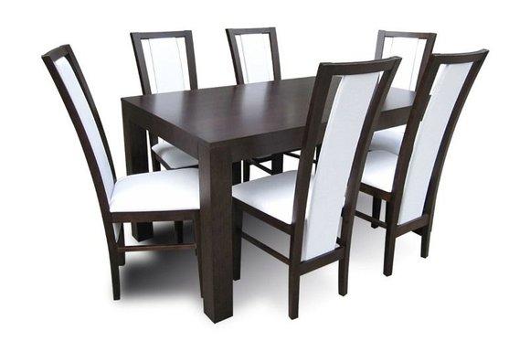 tisch mit stuhlen essgruppe esstisch 6 x sta 1 4 hlen model z35 ikea runder