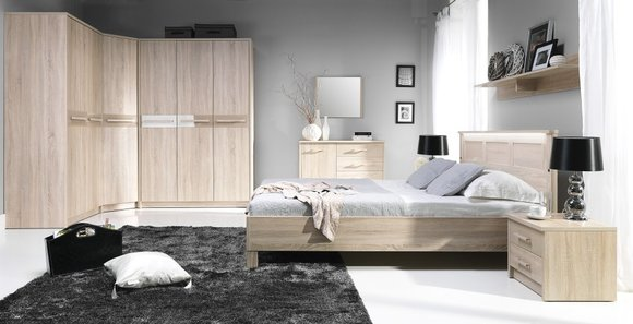komplettes schlafzimmer jugendzimmer zimmereinrichtung cremona 3 jvmoebel. Black Bedroom Furniture Sets. Home Design Ideas