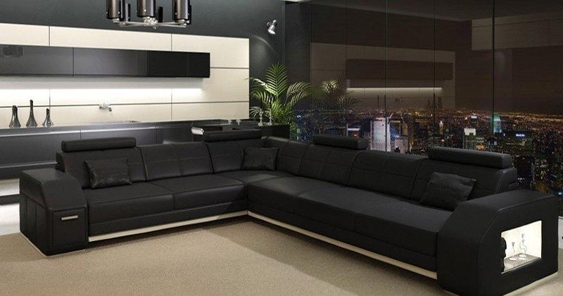 sofas ledersofas ebern bettfunktion designersofa ecksofa. Black Bedroom Furniture Sets. Home Design Ideas