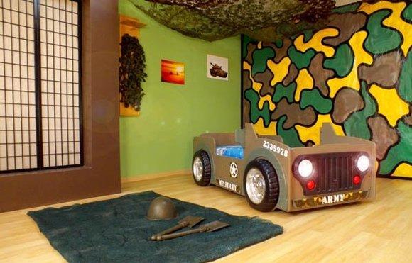kinderbett mit matratze jugendbett auto bett scheinwerfer betten jeep. Black Bedroom Furniture Sets. Home Design Ideas