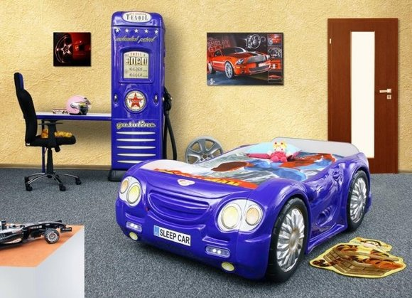 Kinderbett jugendbett auto bett betten sleep car - Kinderzimmer cars ...