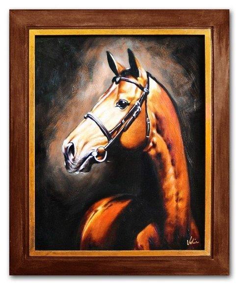 Ölbild Ölbilder Gemälde Bilder Bild Handgemalt Öl mit Rahmen Kunst G04097