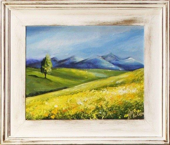 Gemälde Natur Handarbeit Ölbild Bild Ölbilder Rahmen Bilder G15590