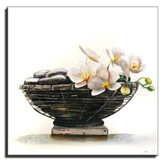 Gemälde Ölbild Bild Ölbilder Rahmen Bilder Ölgemälde Feng Shui G01655