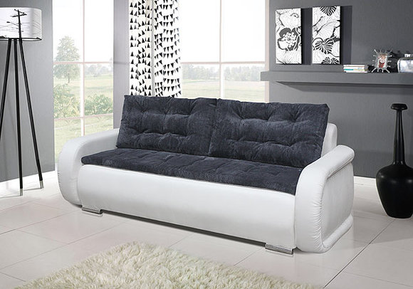 Sofas und ledersofas sigma bettfunktion designersofa for Sofa mit bettfunktion
