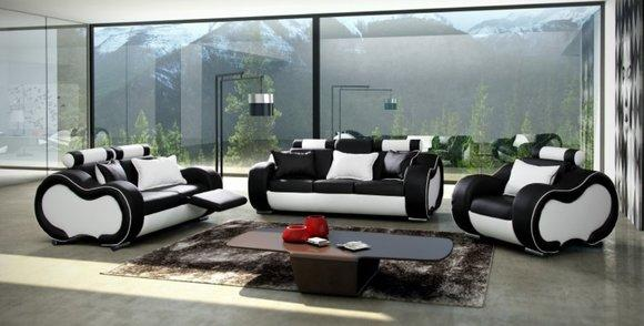 sofas und ledersofa solingen 3 2 1 designersofa sofagarnitur bei jv m bel. Black Bedroom Furniture Sets. Home Design Ideas