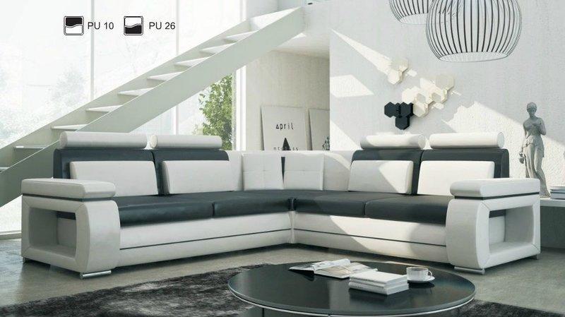 Eckcouch modern stoff  www.JVmoebel.de - la design... Möbel | Ledersofa | Sofa