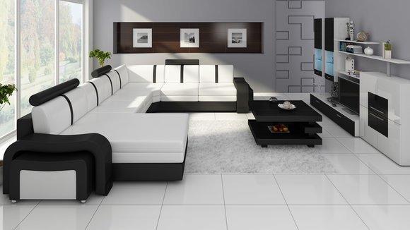 Designer couch  www.JVmoebel.de - la design... Möbel | Ledersofa | Sofa