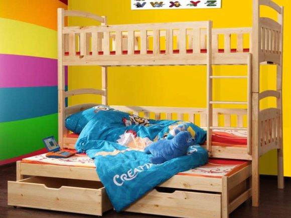 doppelstockbett etagenbett bett kinderbett betten stockbett wox 7 ch etagenbett www jvmoebel. Black Bedroom Furniture Sets. Home Design Ideas
