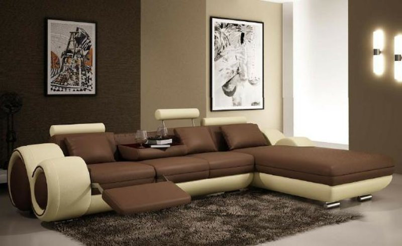 ecksofa und wohnlandschaft ledersofa sofort lieferbar von jvmoebel. Black Bedroom Furniture Sets. Home Design Ideas