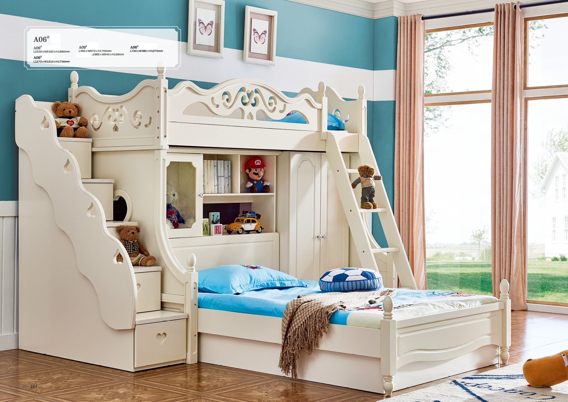 Etagenbett Für 3 Kinder : Hochbett fur kinder a fa r etagen