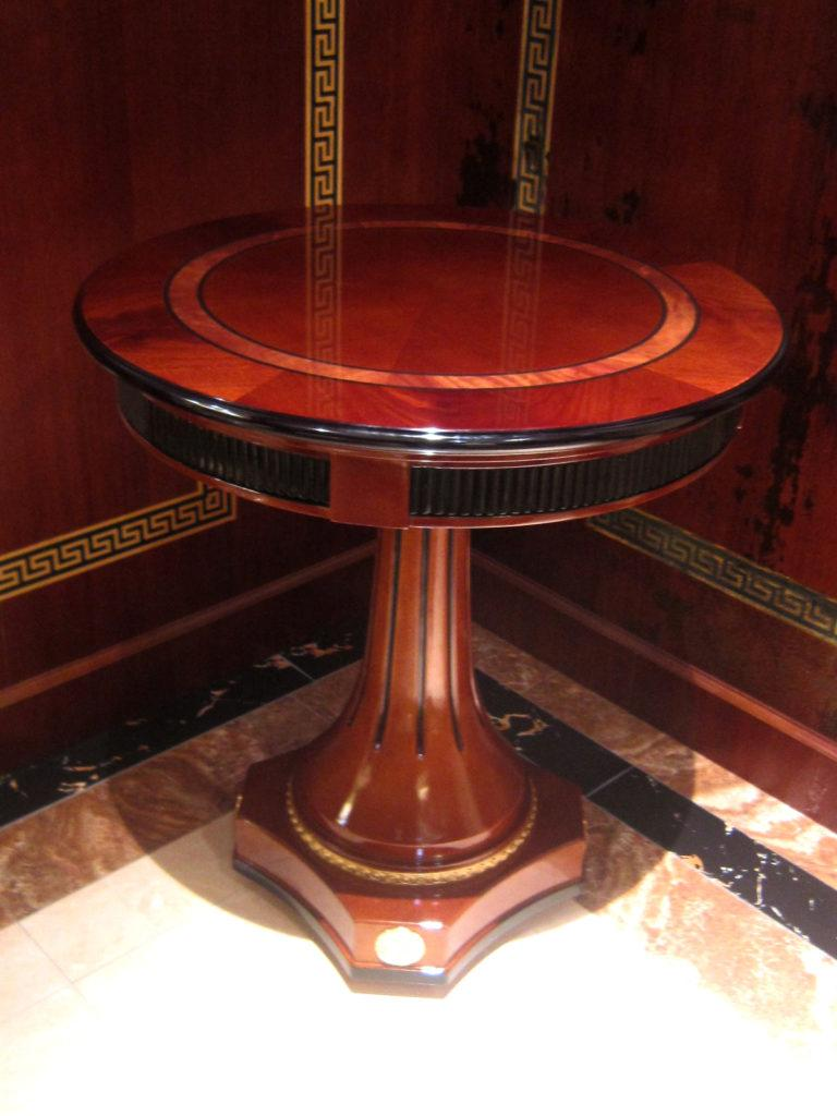 Runder Esszimmer Rund Tisch Holz Tische Runde Rund Klassisch Barock Rokoko E38
