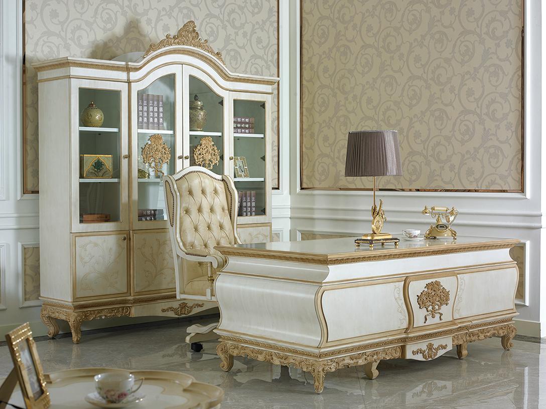 Klassische Büromöbel Designer Kanzlei Praxis Einrichtungs Möbel