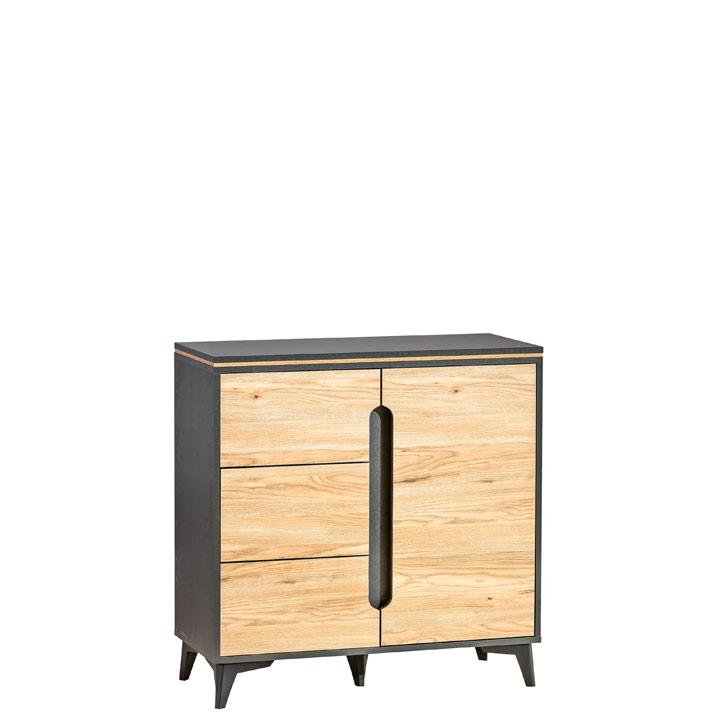 Kommode Highboard Sideboard Schrank Modern Wohnzimmer Kollektion Vitrine