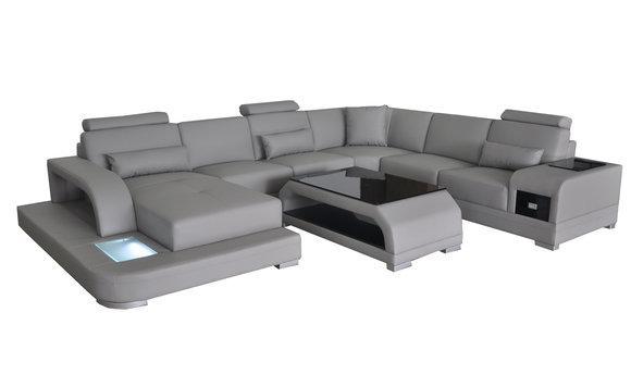 Designer Wohnlandschaft als XXL Big Sofa in U oder L Form ...