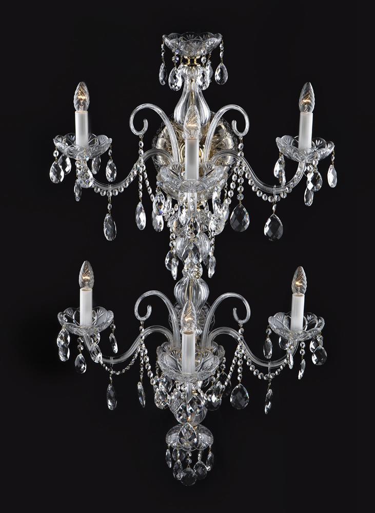 Wandleuchte Bohemia Luster Antik Stil Kronleuchter Wand Lampen Wandlampe Neu
