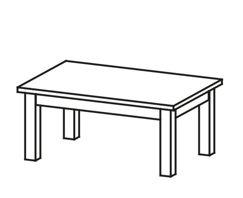 Klassischer Couchtisch Holztisch Beistelltisch Design Tische Wohnzimmer LU-S3
