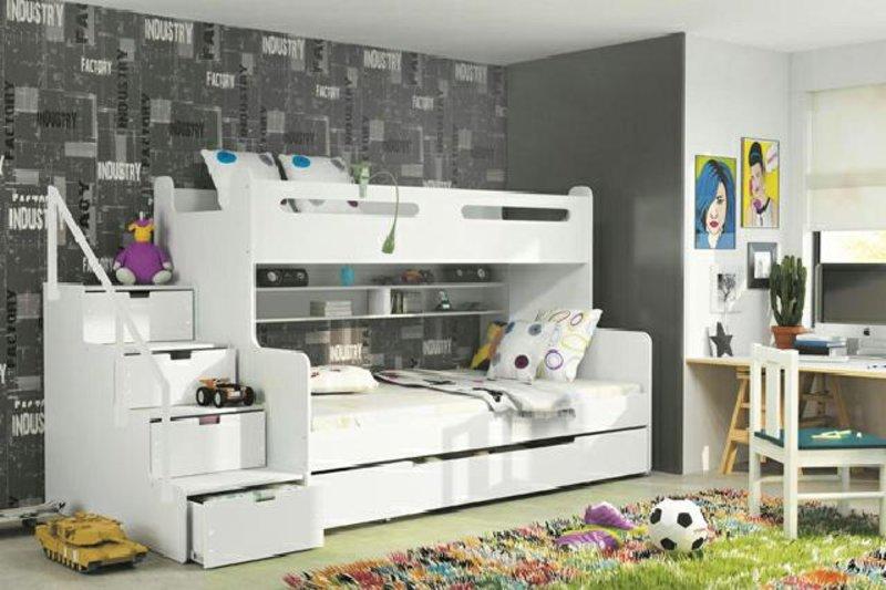Etagenbett Weiss Hochglanz : Flexa white hochbett amazing cool kallax regal hochglanz weis cm