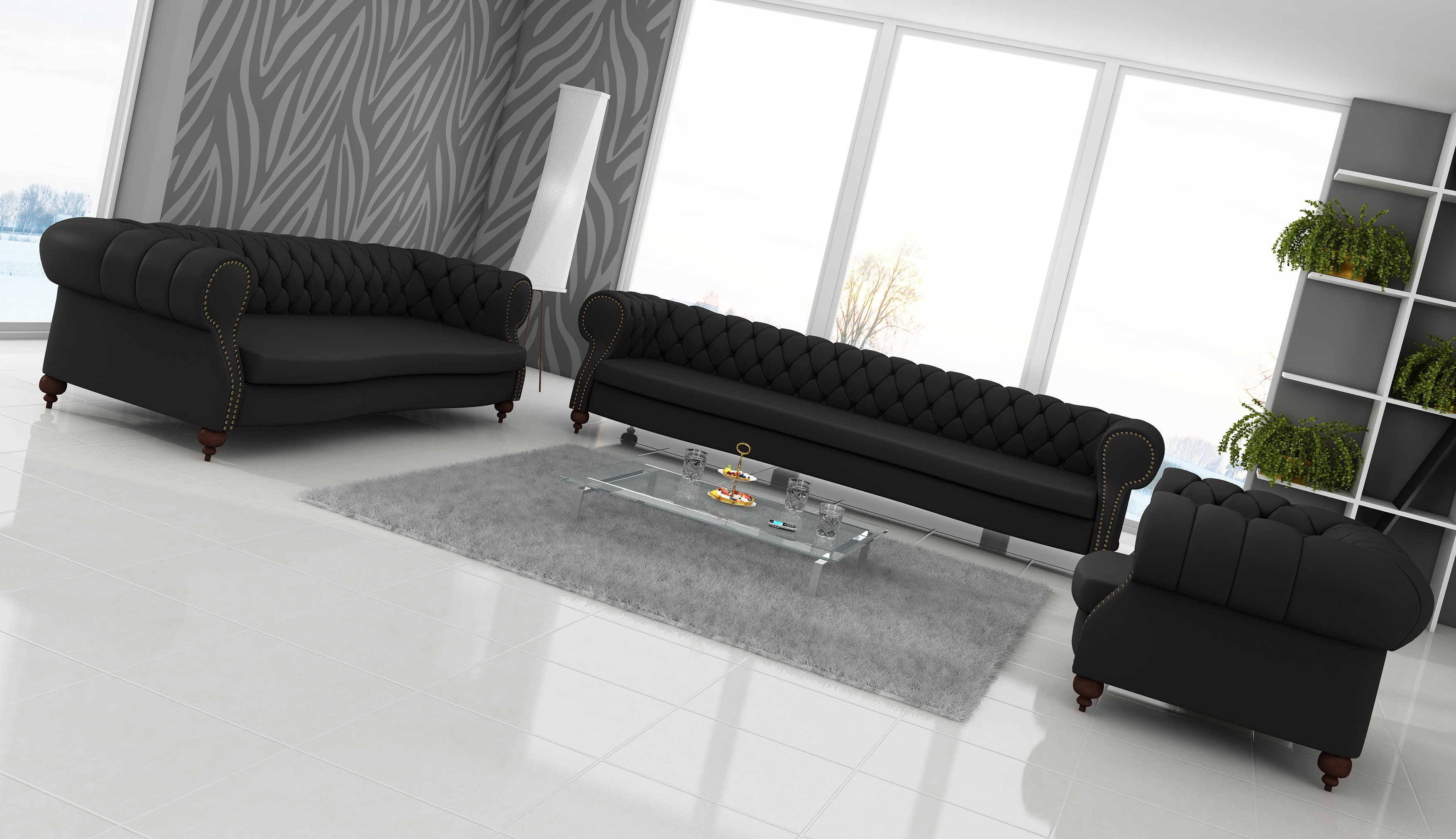 echt ledersofa ledercouch garnitur g nstig kaufen. Black Bedroom Furniture Sets. Home Design Ideas