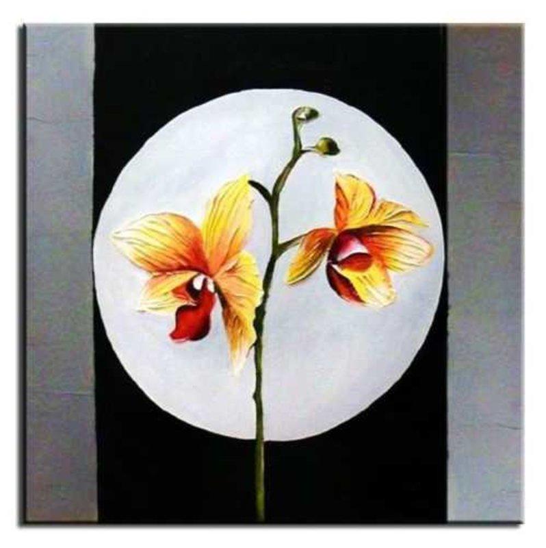 Gemälde Ölbild Bild Ölbilder Rahmen Bilder Ölgemälde Feng Shui G01660