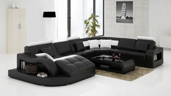 sofas und ledersofas einstein b designersofa ecksofa bei jv m bel. Black Bedroom Furniture Sets. Home Design Ideas