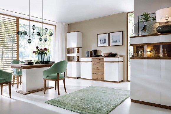 Klassische m bel im italienischen stil in massivholz - Klassische wohnwand ...