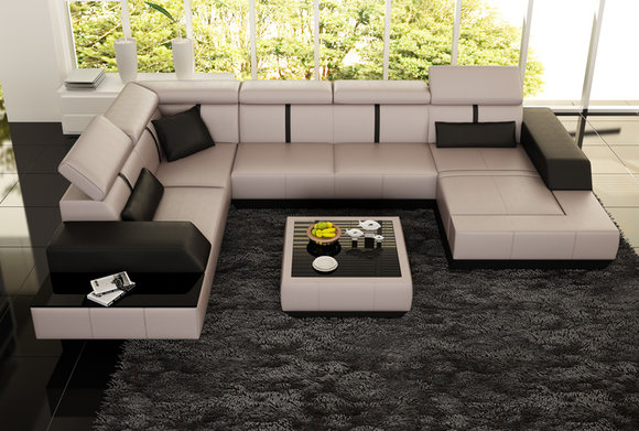 sofas und ledersofas le mans designersofa ecksofa bei jv m bel. Black Bedroom Furniture Sets. Home Design Ideas