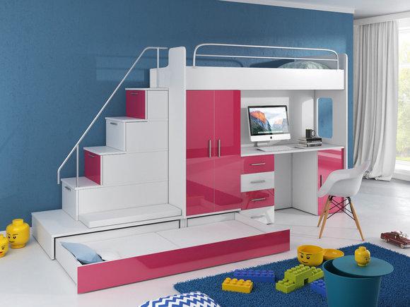 Haus Bett Etagenbett : Galerie hochbetten kindermöbel münchen salto