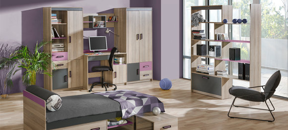 wandregal h ngeregal lounge b cherregal b cher kinderzimmer cd regal holz neu u17 www jvmoebel. Black Bedroom Furniture Sets. Home Design Ideas