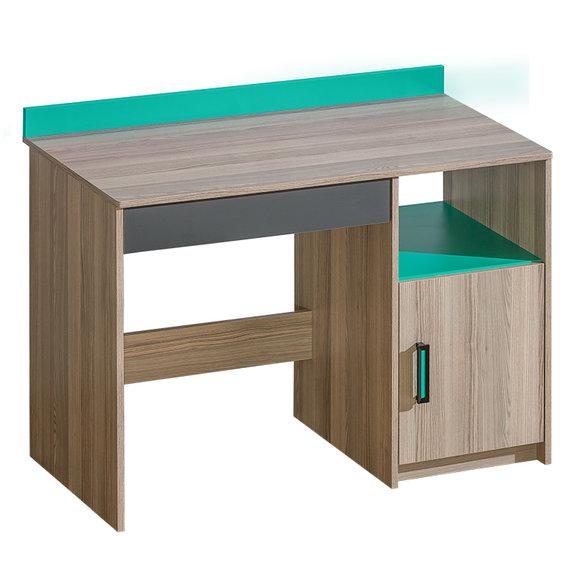 wohnwand schrankwand eck schrank kinderzimmer schreibtisch jugendzimmer neu 2. Black Bedroom Furniture Sets. Home Design Ideas