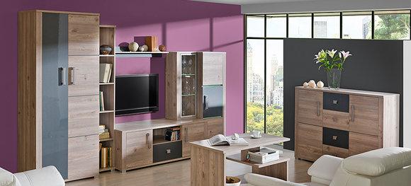 rtv couchtisch fernsehschrank holztisch tisch wohnzimmer lowboard eiche neu verto www. Black Bedroom Furniture Sets. Home Design Ideas