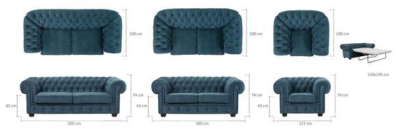 Sofagarnitur Sofa Couch 321 Garnitur Mit Bettfunktion