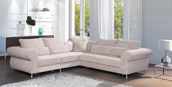 sofa schlafsofa designer sofa mit bettfunktion + bettkasten, Attraktive mobel
