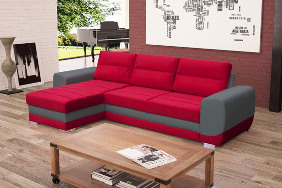 sofas ledersofa kirii mit bettfunktion bettkasten ecksofa schlaffunktion. Black Bedroom Furniture Sets. Home Design Ideas