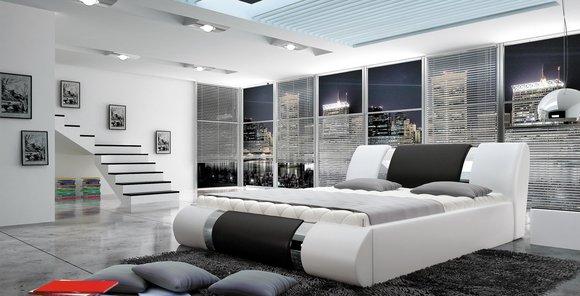 wasserbett bett betten komplett lederbett polsterbett mit matratze neu atlantis www jvmoebel. Black Bedroom Furniture Sets. Home Design Ideas