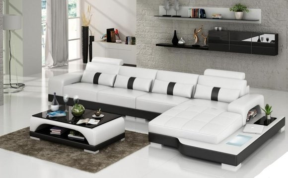 sofas ledersofas neuer bettfunktion designersofa ecksofa. Black Bedroom Furniture Sets. Home Design Ideas