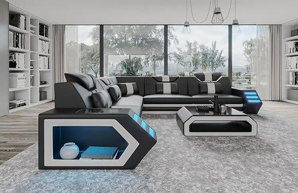 sofort lieferbare couch moderne ledersofas zum g nstigen preis erh ltlich. Black Bedroom Furniture Sets. Home Design Ideas