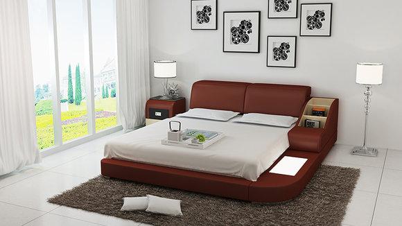 modernes schlafzimmer design, polster design luxus bett betten leder modernes schlafzimmer 140/160, Design ideen