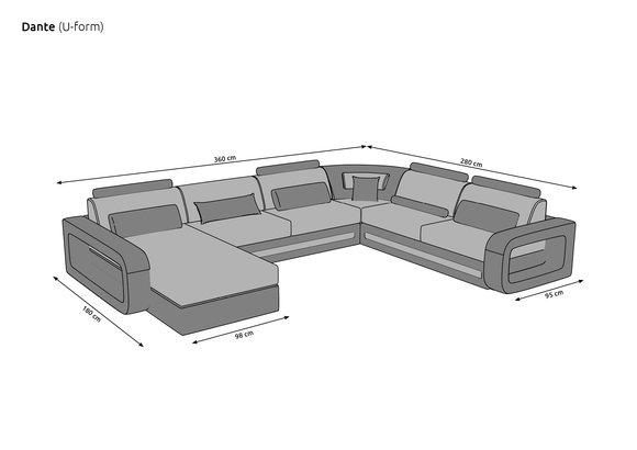 U Couch Masse