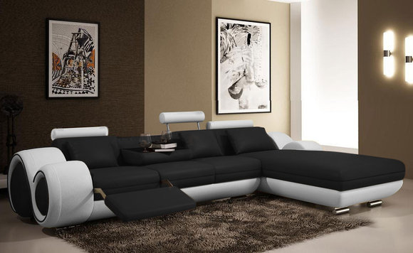 jvmoebel ledersofa couch sofa ecksofa modell berlin ii. Black Bedroom Furniture Sets. Home Design Ideas