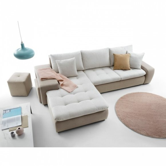 Schlafcouch Multifunktions Sofa Bettfunktion Eck Garnitur Couch