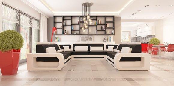 sofas und ledersofas stuttgart 4 designersofa ecksofa bei jv m bel. Black Bedroom Furniture Sets. Home Design Ideas