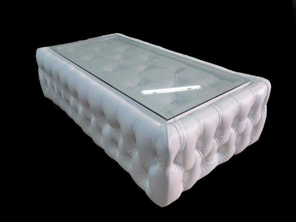Couchtisch Und Clubtisch Tisch Lawa Design Chesterfield Ledertisch