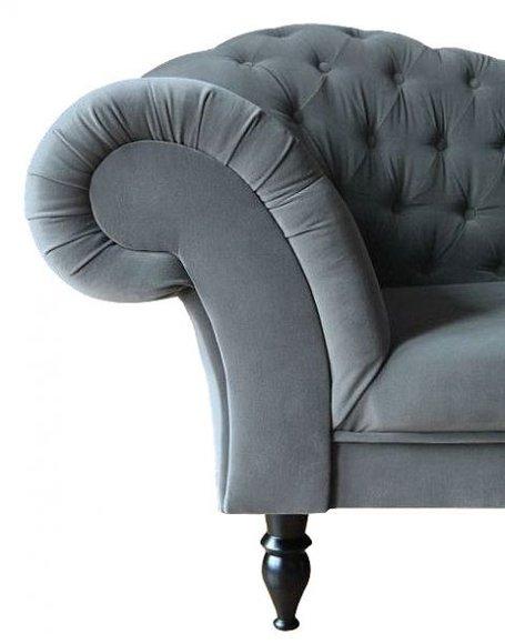 Chesterfield ecksofa stoff grau  www.JVmoebel.de - la design... Möbel | Ledersofa | Sofa