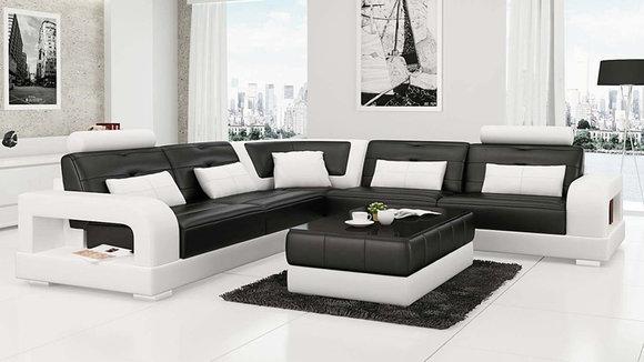 ecksofa l form. Black Bedroom Furniture Sets. Home Design Ideas