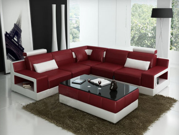 sofas und ledersofas ulm ii bettfunktion designersofa ecksofa bei jv m bel. Black Bedroom Furniture Sets. Home Design Ideas