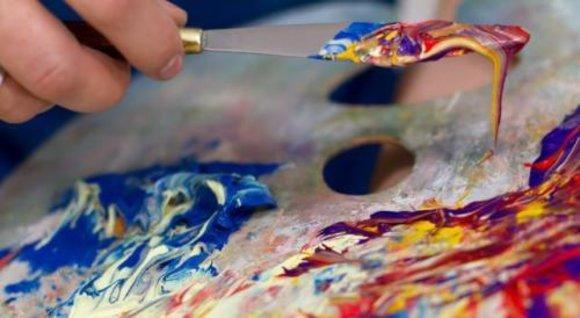 Ölbild Bilder Bild Gemälde Ölgemälde Garten Handarbeit Mit Rahmen G16338