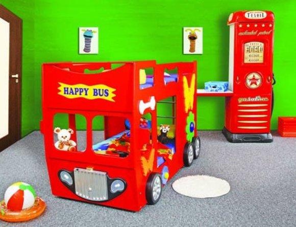 Etagenbett Autobus : Etagenbett bus kinderzimmer ausstattung und möbel gebraucht