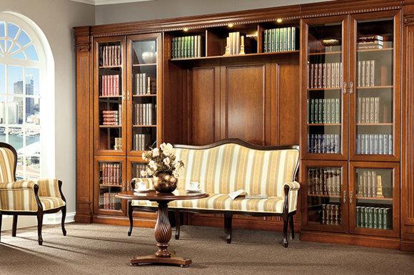 klassische m bel im italienischen stil in massivholz. Black Bedroom Furniture Sets. Home Design Ideas